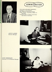 Page 13, 1954 Edition, Rocky Mountain College - Poly Yearbook (Billings, MT) online yearbook collection
