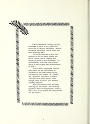 Page 8, 1965 Edition, Rocky Mountain College - Poly Yearbook (Billings, MT) online yearbook collection