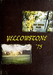 1975 Edition, Rocky Mountain College - Yellowstone / Poly Yearbook (Billings, MT)