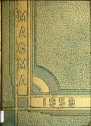 1959 Edition, Montana Tech University of Montana - Magma Yearbook (Butte, MT)
