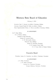 Page 12, 1914 Edition, Montana State University Bozeman - Montanan Yearbook (Bozeman, MT) online yearbook collection