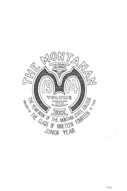 Page 3, 1914 Edition, Montana State University Bozeman - Montanan Yearbook (Bozeman, MT) online yearbook collection