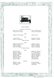 Page 123, 1921 Edition, Montana State University Bozeman - Montanan Yearbook (Bozeman, MT) online yearbook collection
