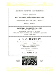 Page 301, 1926 Edition, Montana State University Bozeman - Montanan Yearbook (Bozeman, MT) online yearbook collection
