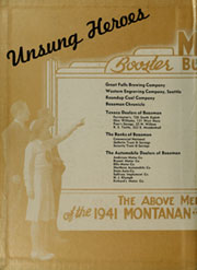 Page 2, 1941 Edition, Montana State University Bozeman - Montanan Yearbook (Bozeman, MT) online yearbook collection