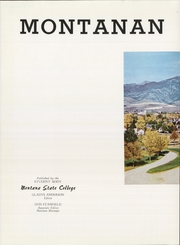 Page 6, 1947 Edition, Montana State University Bozeman - Montanan Yearbook (Bozeman, MT) online yearbook collection