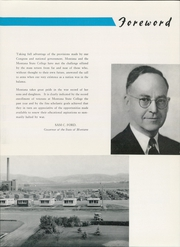 Page 9, 1947 Edition, Montana State University Bozeman - Montanan Yearbook (Bozeman, MT) online yearbook collection