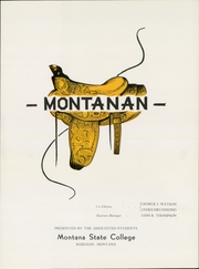 Page 7, 1948 Edition, Montana State University Bozeman - Montanan Yearbook (Bozeman, MT) online yearbook collection