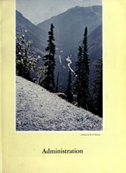 Page 11, 1956 Edition, Montana State University Bozeman - Montanan Yearbook (Bozeman, MT) online yearbook collection