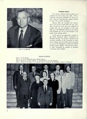 Page 12, 1956 Edition, Montana State University Bozeman - Montanan Yearbook (Bozeman, MT) online yearbook collection