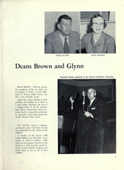 Page 13, 1956 Edition, Montana State University Bozeman - Montanan Yearbook (Bozeman, MT) online yearbook collection