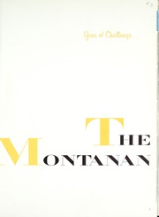 Page 5, 1961 Edition, Montana State University Bozeman - Montanan Yearbook (Bozeman, MT) online yearbook collection