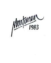 Montana State University Bozeman - Montanan Yearbook (Bozeman, MT) online yearbook collection, 1983 Edition, Page 1