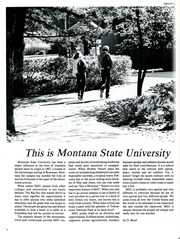 Page 6, 1986 Edition, Montana State University Bozeman - Montanan Yearbook (Bozeman, MT) online yearbook collection