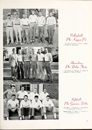 Page 223, 1949 Edition, DePauw University - Mirage Yearbook (Greencastle, IN) online yearbook collection