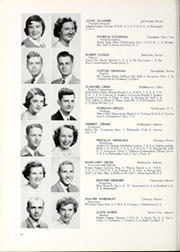 Page 72, 1949 Edition, DePauw University - Mirage Yearbook (Greencastle, IN) online yearbook collection