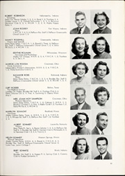 Page 85, 1949 Edition, DePauw University - Mirage Yearbook (Greencastle, IN) online yearbook collection