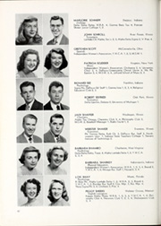 Page 86, 1949 Edition, DePauw University - Mirage Yearbook (Greencastle, IN) online yearbook collection
