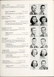 Page 87, 1949 Edition, DePauw University - Mirage Yearbook (Greencastle, IN) online yearbook collection