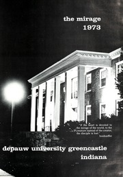 Page 5, 1973 Edition, DePauw University - Mirage Yearbook (Greencastle, IN) online yearbook collection