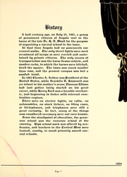 Page 11, 1934 Edition, Trine University - Modulus Yearbook (Angola, IN) online yearbook collection
