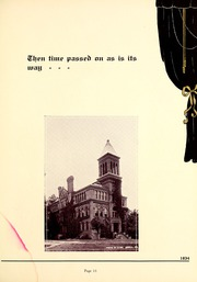 Page 17, 1934 Edition, Trine University - Modulus Yearbook (Angola, IN) online yearbook collection