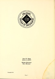 Page 6, 1934 Edition, Trine University - Modulus Yearbook (Angola, IN) online yearbook collection