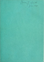 Page 3, 1939 Edition, Trine University - Modulus Yearbook (Angola, IN) online yearbook collection