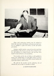 Page 15, 1948 Edition, Trine University - Modulus Yearbook (Angola, IN) online yearbook collection