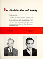 Page 17, 1948 Edition, Trine University - Modulus Yearbook (Angola, IN) online yearbook collection