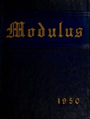 Page 1, 1950 Edition, Trine University - Modulus Yearbook (Angola, IN) online yearbook collection