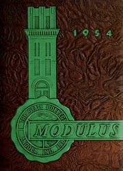 Page 1, 1954 Edition, Trine University - Modulus Yearbook (Angola, IN) online yearbook collection
