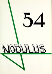 Page 5, 1954 Edition, Trine University - Modulus Yearbook (Angola, IN) online yearbook collection