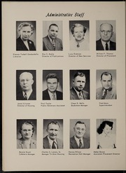 Page 14, 1956 Edition, Trine University - Modulus Yearbook (Angola, IN) online yearbook collection
