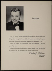 Page 8, 1956 Edition, Trine University - Modulus Yearbook (Angola, IN) online yearbook collection