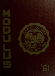 Page 1, 1961 Edition, Trine University - Modulus Yearbook (Angola, IN) online yearbook collection