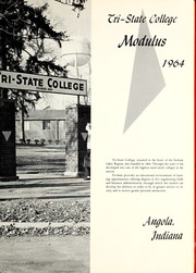 Page 5, 1964 Edition, Trine University - Modulus Yearbook (Angola, IN) online yearbook collection