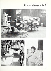Page 15, 1974 Edition, Trine University - Modulus Yearbook (Angola, IN) online yearbook collection