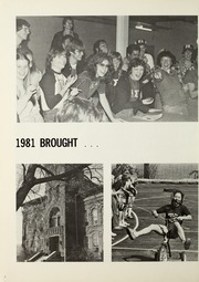 Page 6, 1981 Edition, Trine University - Modulus Yearbook (Angola, IN) online yearbook collection