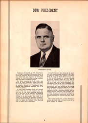 Page 10, 1946 Edition, University of Evansville - Linc Yearbook (Evansville, IN) online yearbook collection