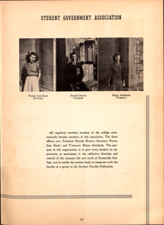Page 17, 1946 Edition, University of Evansville - Linc Yearbook (Evansville, IN) online yearbook collection