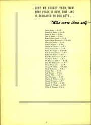 Page 6, 1946 Edition, University of Evansville - Linc Yearbook (Evansville, IN) online yearbook collection
