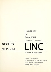 Page 5, 1969 Edition, University of Evansville - Linc Yearbook (Evansville, IN) online yearbook collection