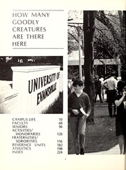 Page 6, 1969 Edition, University of Evansville - Linc Yearbook (Evansville, IN) online yearbook collection