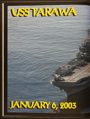 Page 2, 2003 Edition, USS Tarawa (LHA 1) - Naval Cruise Book online yearbook collection