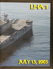 Page 3, 2003 Edition, USS Tarawa (LHA 1) - Naval Cruise Book online yearbook collection
