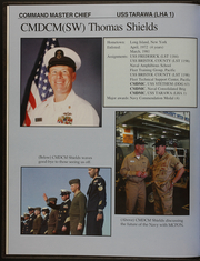 Page 6, 2003 Edition, USS Tarawa (LHA 1) - Naval Cruise Book online yearbook collection