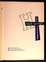 Page 5, 1949 Edition, Hood College - Touchstone Yearbook (Frederick, MD) online yearbook collection
