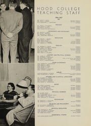 Page 12, 1957 Edition, Hood College - Touchstone Yearbook (Frederick, MD) online yearbook collection