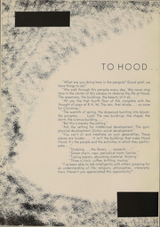 Page 3, 1957 Edition, Hood College - Touchstone Yearbook (Frederick, MD) online yearbook collection